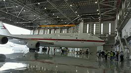Presidential Flight Hangar Abu Dhabi, UAE